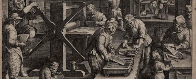 Descubrimiento de la técnica calcográfica