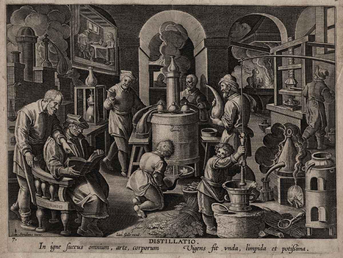 Descubrimiento de la destilación