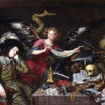 Antonio de Pereda. El sueño del caballero. c. 1670